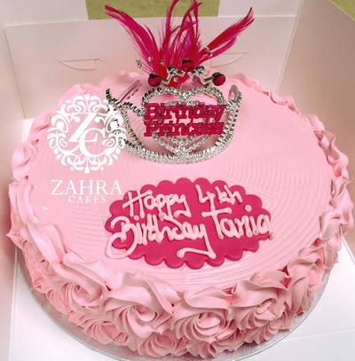 Birthday Cakes by Zahra Cakes Zahra Cakes Makers of Gourmet Cakes