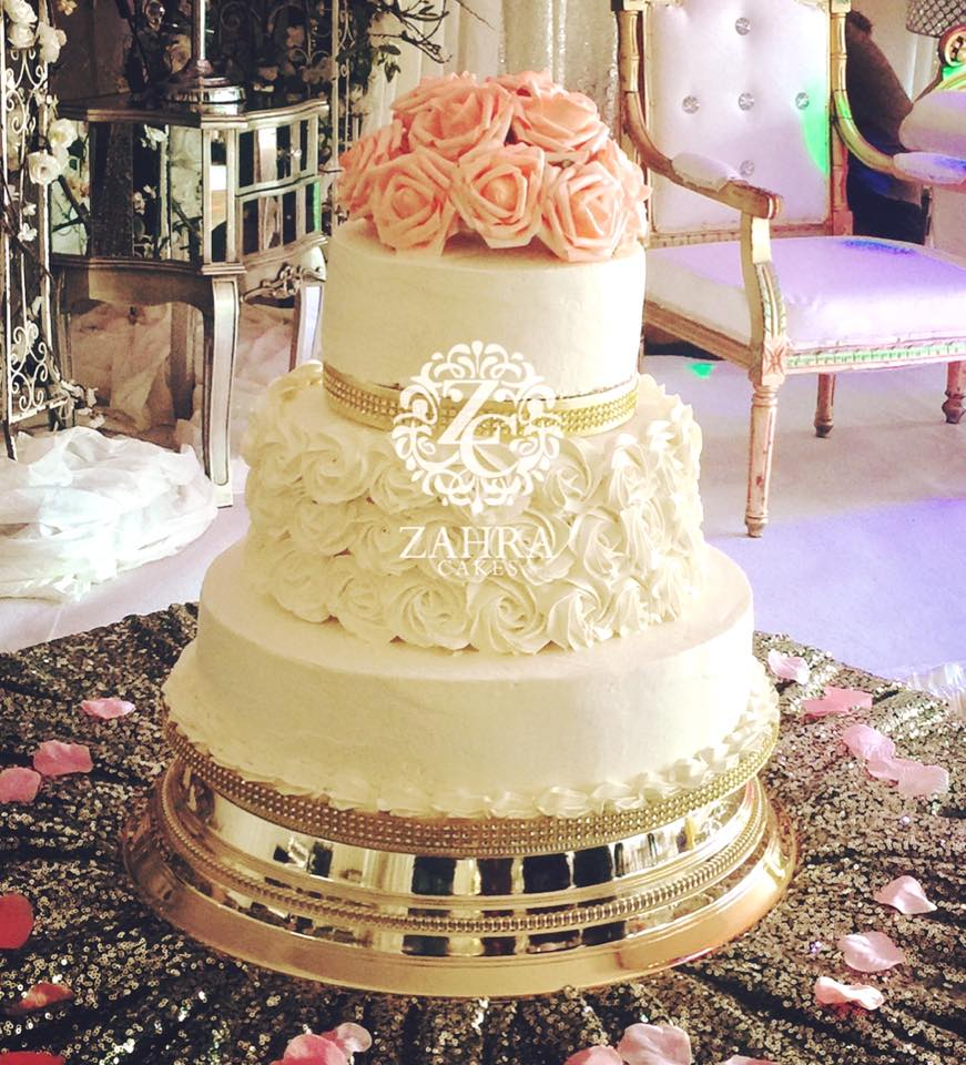 Wedding Cakes by Zahra Cakes - Zahra Cakes Makers of Gourmet Cakes ...