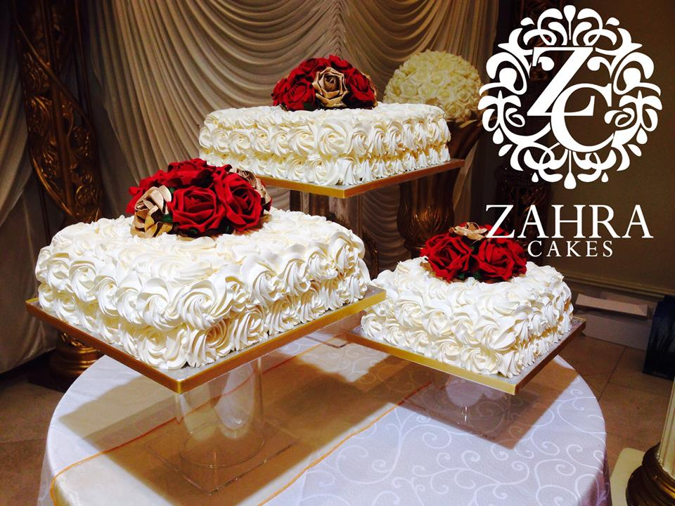 Wedding Cakes By Zahra Cakes Zahra Cakes Makers Of Gourmet Cakes