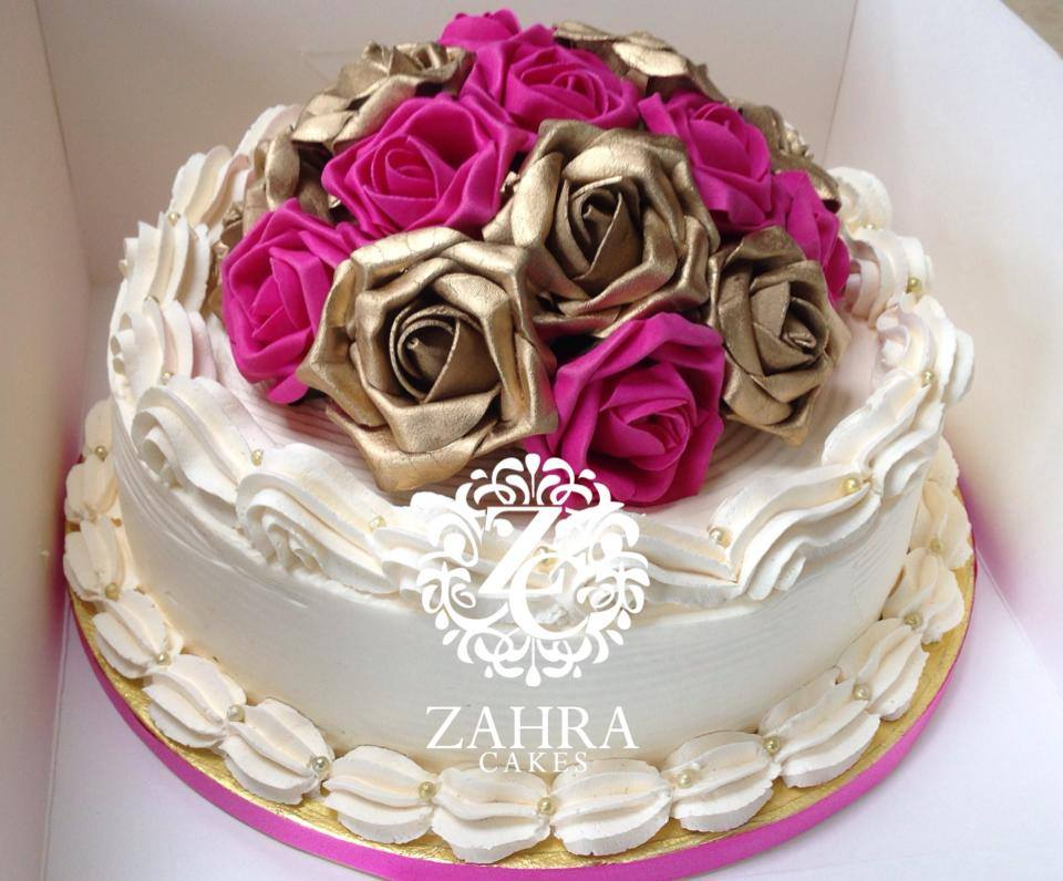 Wedding Cakes By Zahra Cakes Zahra Cakes Makers Of